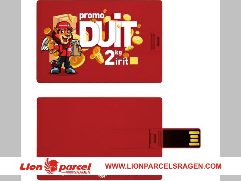 card duit promo lion sragen